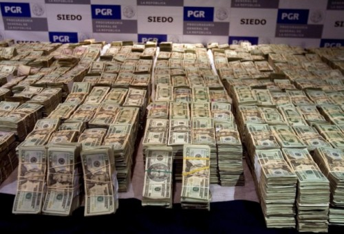 Second biggest money seizure in the history of Mexico