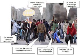 Afbeeldingsresultaat voor hoogopgeleide vakkrachten migratie cartoon