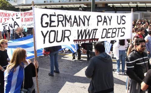 athene crisis protest griekenland 1