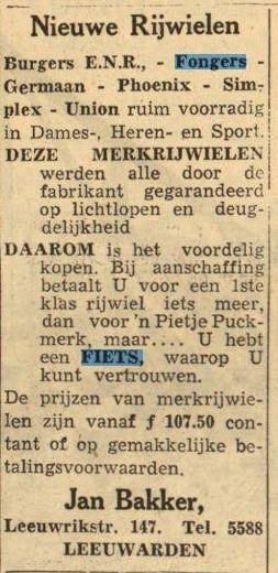 Fiets 1950