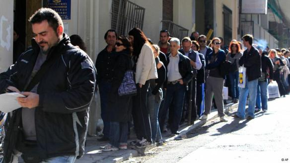 Griekse werkeloosheid