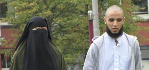 haatbaard-demo-Museumplein-niqaab