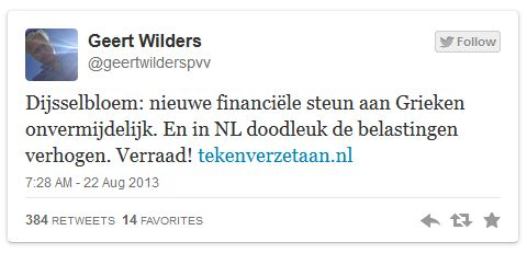 Wilders Griekenland