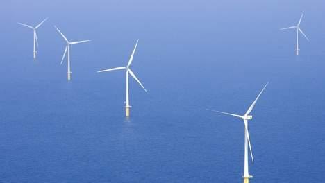 Energie uit dit windmolenparkje kost ruin 50 cent per kWh terwijl kolenstroom minder dan een-tiende kost.