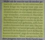 Volkskrant Wilders heeft gelijk