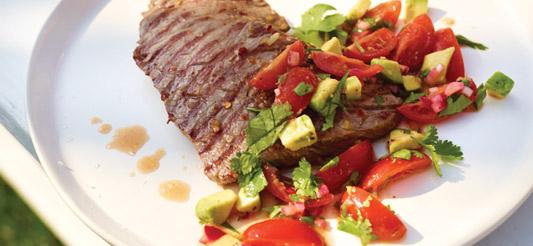 Biefstuk-met-tomatensalsa
