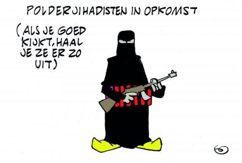 Volgens Linksche Menschen zijn de ISIS moordenaars eigenlijk lieve knullen die een beetje belletje trekken.