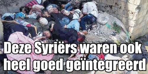 Over integratie gesproken: Deze Syriërs leefden al eeuwen samen met hun buren.