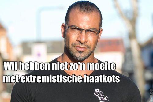 Extremistische haatkots