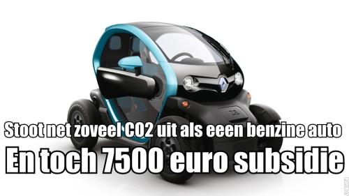 7500 euro subsidie