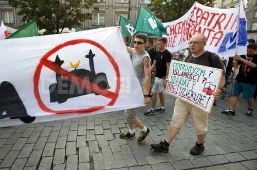 Polen Demonstratie