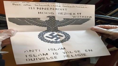 Dreigbrief Moskeeen
