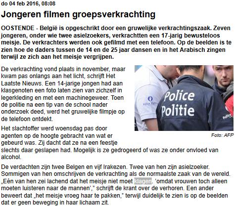 Telegraaf 20160204
