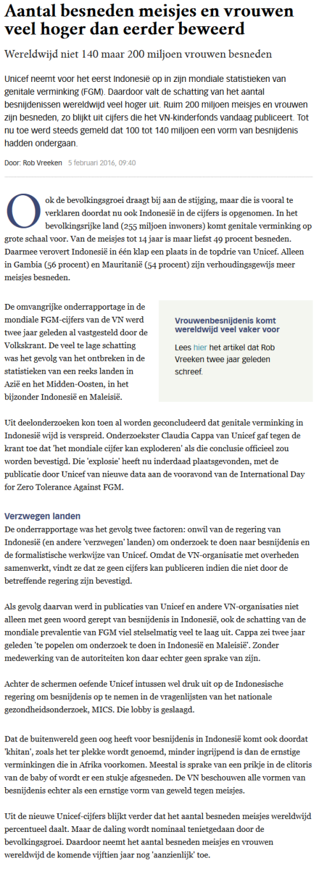 Volkskrant 20160205