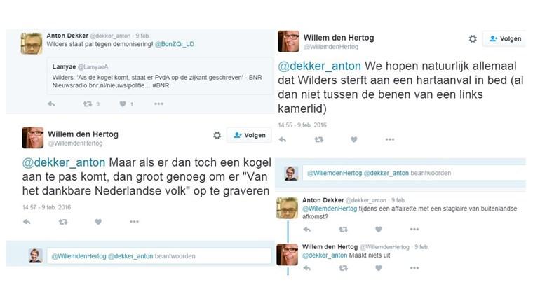 Wilders Doodsbedreiging door PvdAers