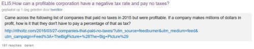 How can a company avoid paying tax question
