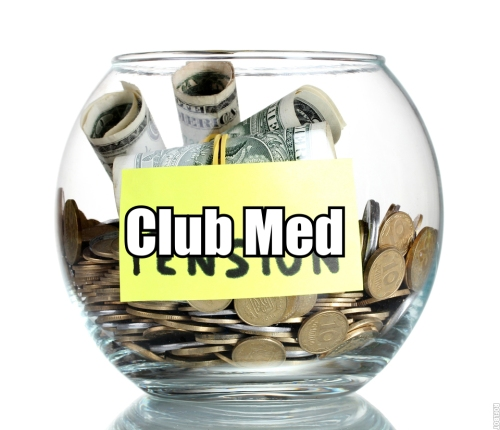 Pensioenen CLub Med