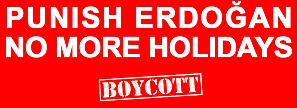 No more holidays in Turkey