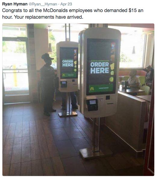 Minimum loon is werkloos