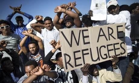Er zijn er nog 400 miljoen die ook 'asiel' zoeken. Maak je borst maar nat!