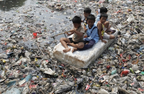 Afval kinderen
