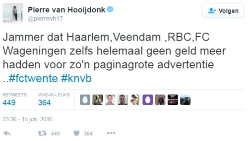Pierre van Hooijdonk FC Twente