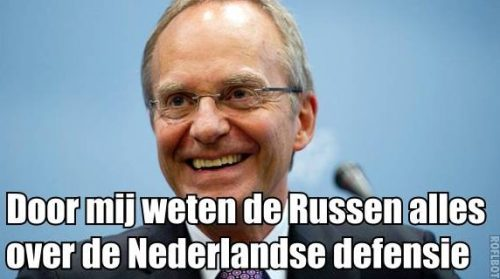 Henk Kamp useful idiot