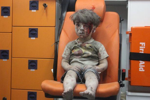Aleppo-airstrike-Omran-Dagneesh