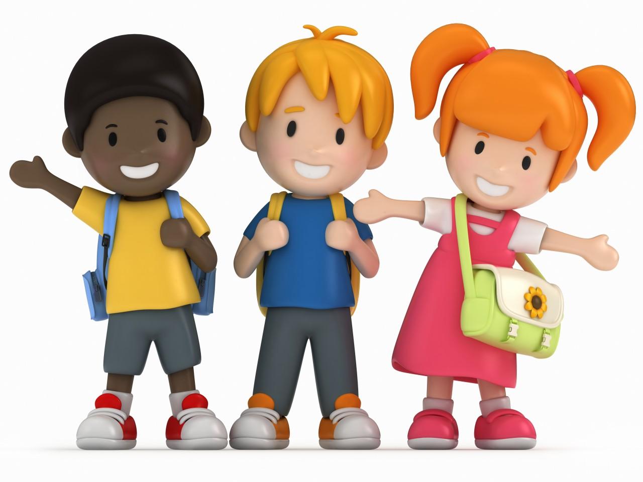 Een van deze kinderen gaat niet mee op schoolreisje. Kun je raden welke?