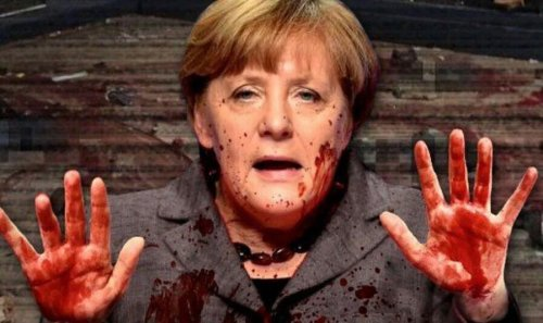 merkel-blood-on-her-hands
