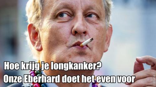 Eberhard longkanker van der laan