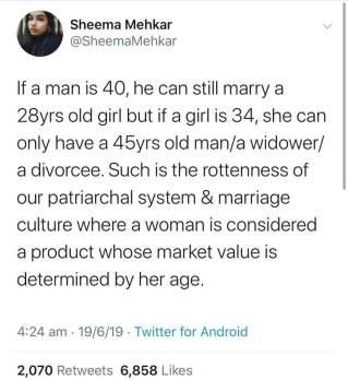 45 male 28 female
